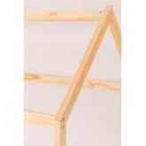 Lit en bois pour matelas 90 cm Obbit Kids, image miniature 4