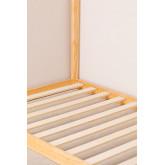 Lit en bois pour matelas 90 cm Obbit Kids, image miniature 6