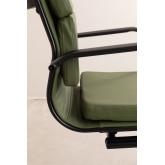 Chaise de bureau avec accoudoirs Mina Black , image miniature 6
