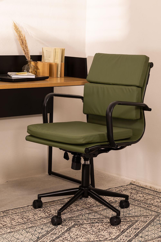 Chaise de bureau sur roues Fhöt , image de la galerie 1