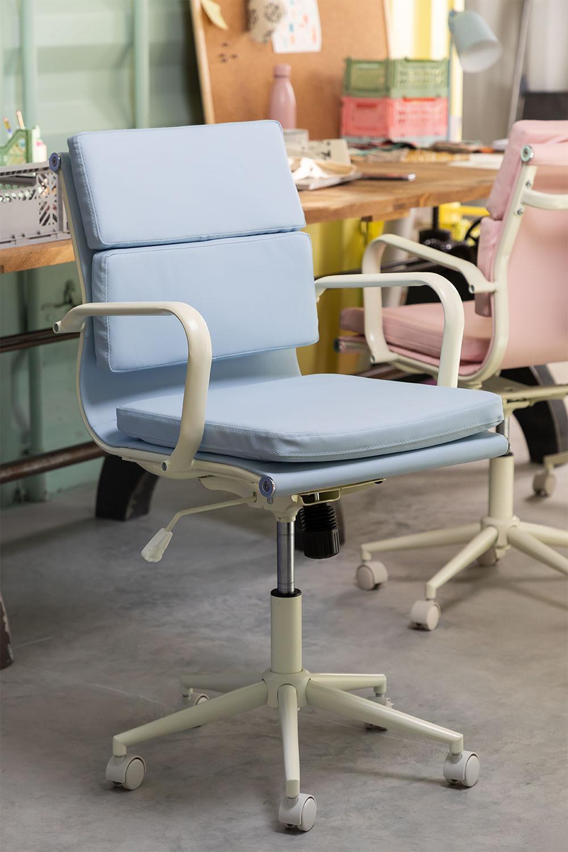 Chaise de bureau sur roues Fhöt Colors , image de la galerie 1