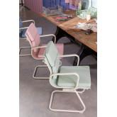Chaise de bureau avec accoudoirs Mina Colors, image miniature 6