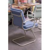 Chaise de bureau avec accoudoirs Mina Colors, image miniature 2