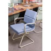 Chaise de bureau avec accoudoirs Mina Colors, image miniature 1