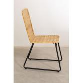 Chaise de salle à manger en rotin Vali Style, image miniature 2