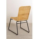Chaise de salle à manger en rotin Vali Style, image miniature 3