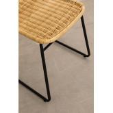 Chaise de salle à manger en rotin Vali Style, image miniature 4