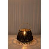 Lampe de table en papier tressé Tish, image miniature 4