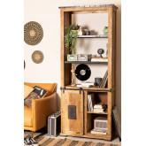 Armoire en bois Uain avec quatre tiroirs, image miniature 1