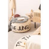 Pouf en coton pour enfants Jungle, image miniature 1