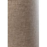 Lampe de table en lin et bois Ulga, image miniature 5