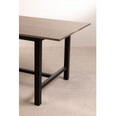 Table à manger en bois de chêne (180x90 cm) Koatt , image miniature 4