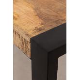 Table de salle à manger en bois Acki, image miniature 5