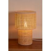 Lampe de table en rotin Siro, image miniature 4