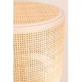 Lampe de table en rotin Siro, image miniature 6