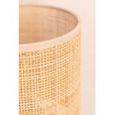 Lampe de table en rotin et métal Muit, image miniature 4