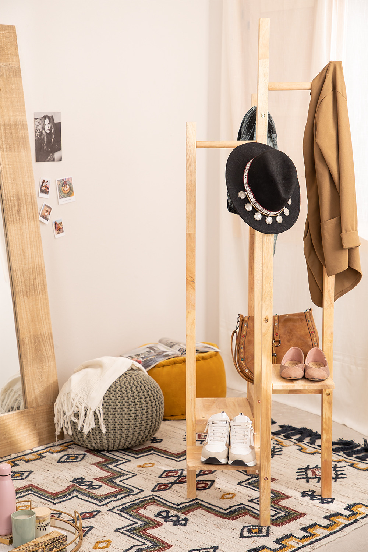 Porte-manteau en bois Arkitec , image de la galerie 1