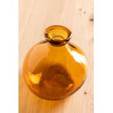 Vase en verre recyclé 18 cm Jound , image miniature 2
