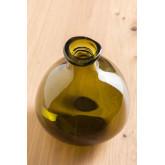 Vase en verre recyclé 18 cm Jound , image miniature 3