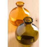 Vase en verre recyclé 18 cm Jound , image miniature 1