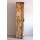 Armoire à 2 portes coulissantes en bois Uain, image miniature 3