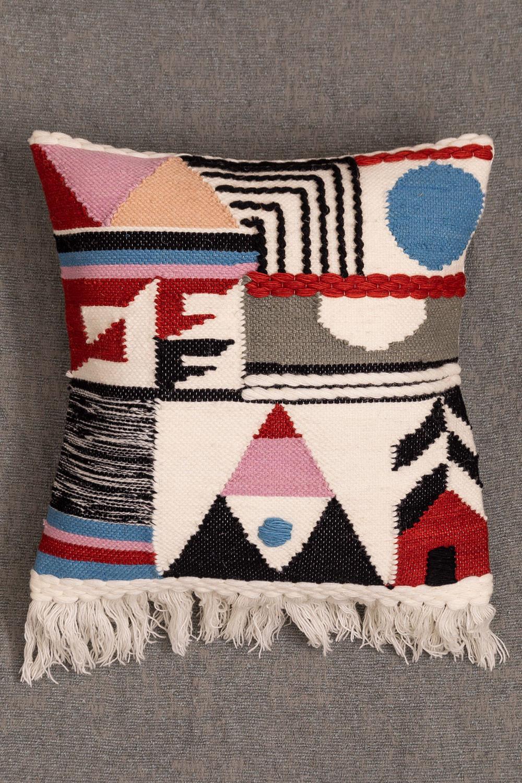 Housse de coussin en laine Zannte, image de la galerie 1