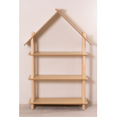 Étagère pour enfants Zita avec 3 étagères en bois, image miniature 3