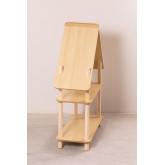 Étagère pour enfants Zita avec 2 étagères en bois, image miniature 4