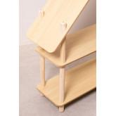 Étagère pour enfants Zita avec 2 étagères en bois, image miniature 5