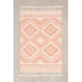 Tapis en laine et coton (210x145 cm) Roiz, image miniature 1