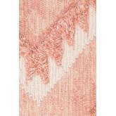 Tapis en laine et coton (210x145 cm) Roiz, image miniature 2