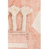 Tapis en laine et coton (210x145 cm) Roiz, image miniature 4