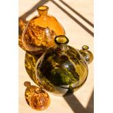 Vase en verre recyclé 18 cm Jound , image miniature 4
