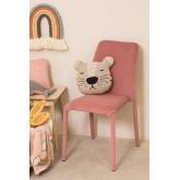 Chaise de salle à manger en velours Trass, image miniature 2