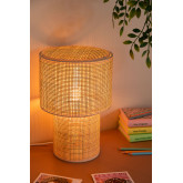 Lampe de table en rotin Siro, image miniature 2