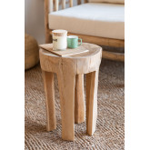 Table d'appoint en bois Dery, image miniature 1