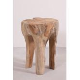 Table d'appoint en bois Tekka, image miniature 2