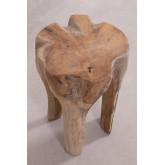 Table d'appoint en bois Tekka, image miniature 4