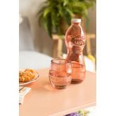 Ensemble de table en verre recyclé Kasster, image miniature 1