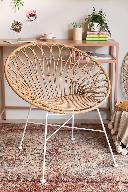 Chaise en rotin synthétique Maui, image de la galerie 1