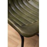 Chaise de salle à manger en cuir Kindia, image miniature 6