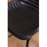 Chaise de salle à manger en cuir Zekal, image miniature 6