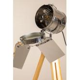 Lampadaire trépied dimmable métallique Cinne, image miniature 6