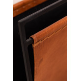 Porte-revues en cuir Zaila , image miniature 4