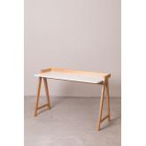 Bureau en bois Kailo, image miniature 2