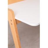 Bureau en bois Kailo, image miniature 6