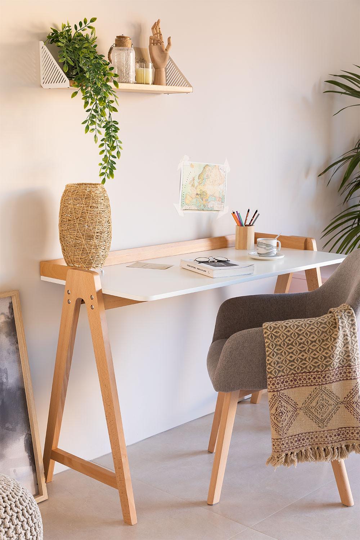 Bureau en bois Kailo, image de la galerie 1