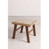 Table basse en osier synthétique Gerder, image miniature 2