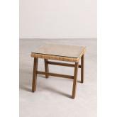 Table basse en osier synthétique Gerder, image miniature 4