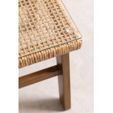 Table basse en osier synthétique Gerder, image miniature 5